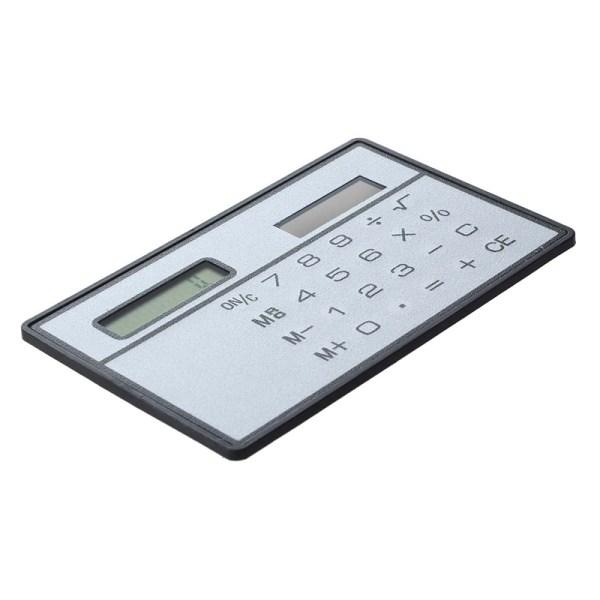 5x Solar Power Credit Card Sized Pocket Calculator C5y7