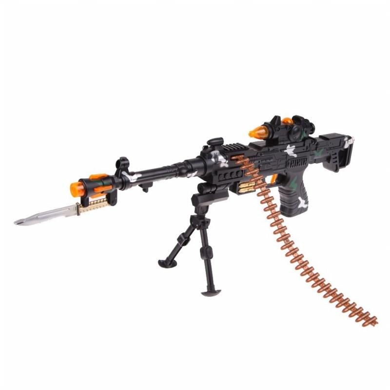NEW TOY KIDS MILITARY ASSAULT MACHINE GUNS WITH SOUND