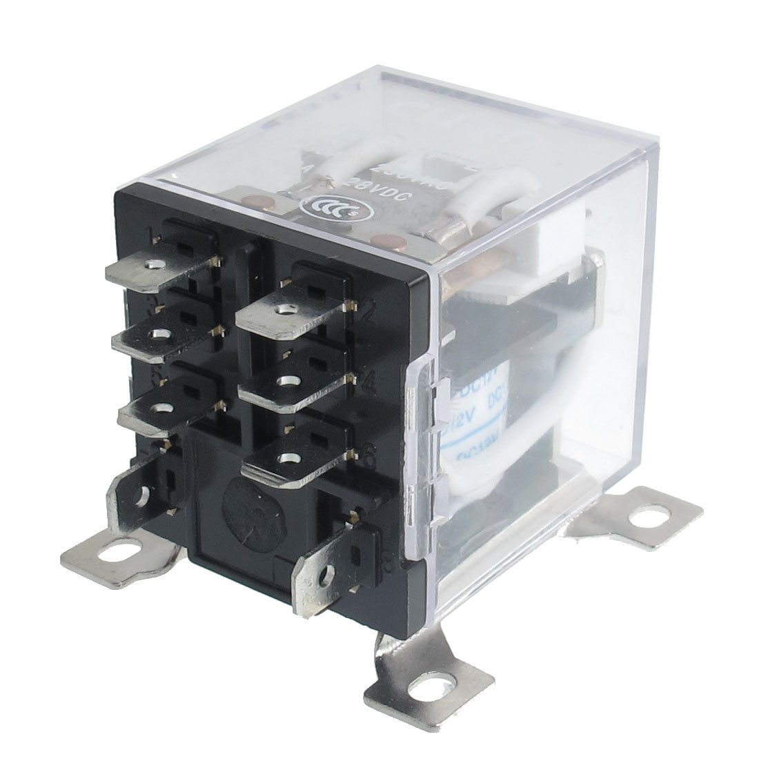 hight resolution of jqx 12f 2z dc 12v 30a dpdt general purpose power relay 8 pin ws rh ebay com au dpdt relay wiring diagram spst relay