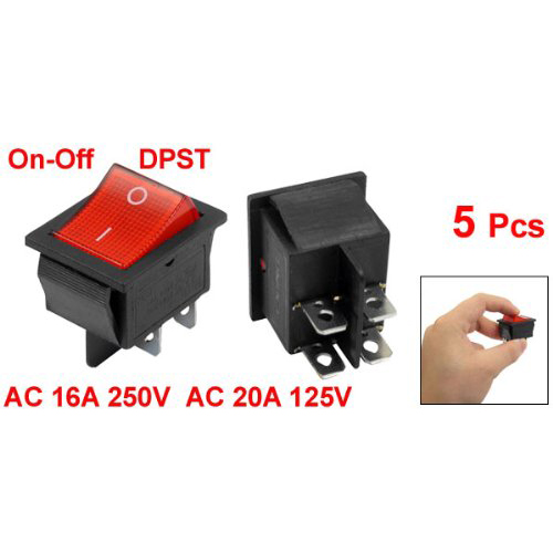 Rocker Switches Full Size Rocker Switches 1 43939 Tabs Onoff Dpst