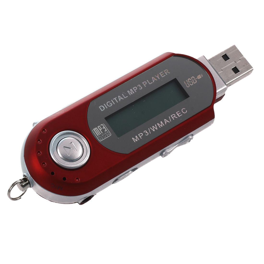 8g Usb Flash Drive Mp3 Player Fm Walkman Red Sdt