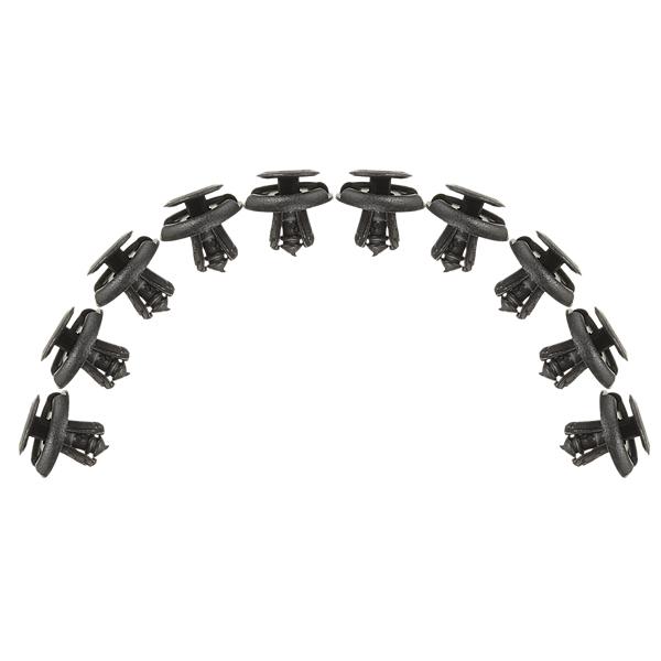 10x NERA AUTO parafango Spray Shield clip clip per SUZUKI