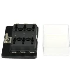 6 way circuit ato atc blade fuse box holder for car van boat marine truck p6x4 [ 1001 x 1001 Pixel ]