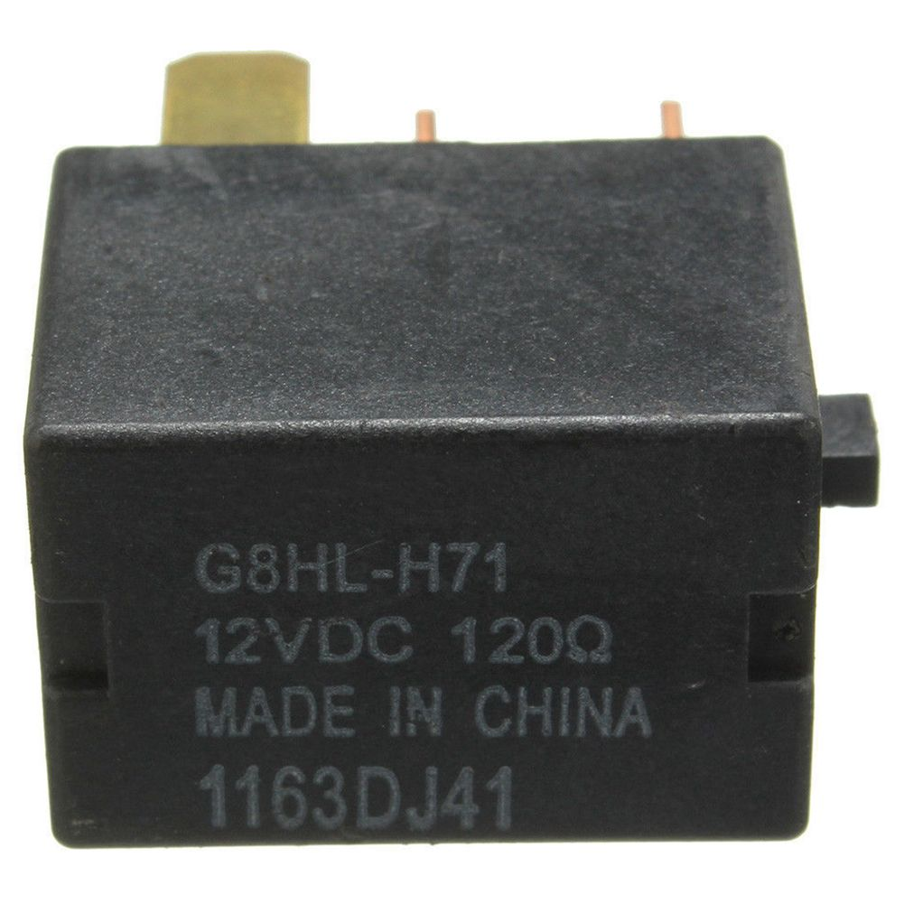 hight resolution of voltage 12v dc 120 ohm material plastic iron copper silver oem cross refernce g8hl h71 fitment just for reference for honda cr v 2007 on
