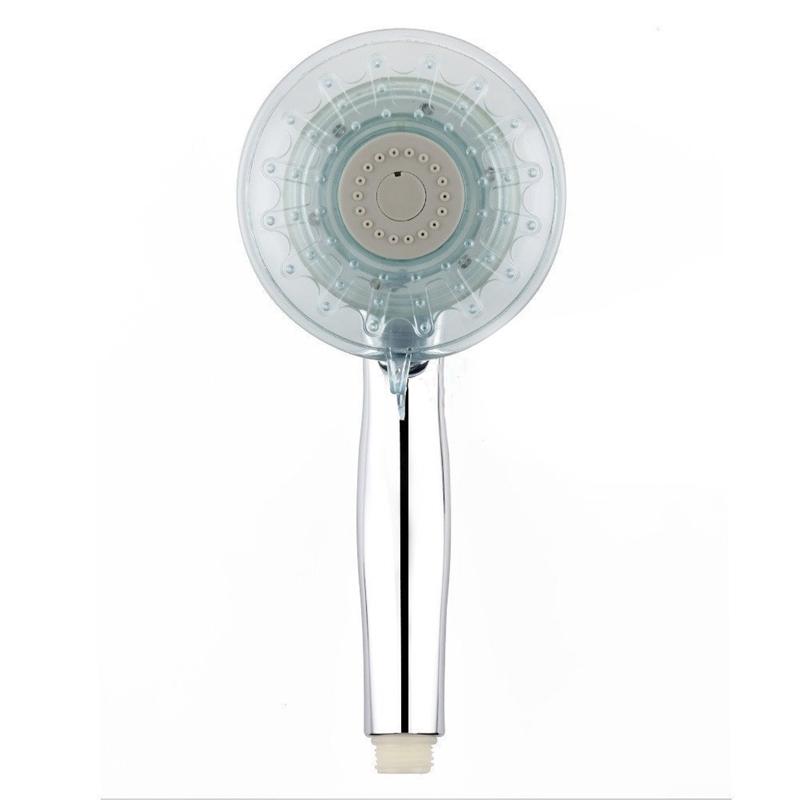 3X(LED SHOWER HEAD, 7 Color LED Lights Colors Changing