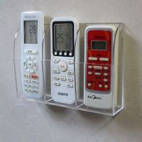 Clear Acrylic Remote Control Holder Wall Mount Media ...