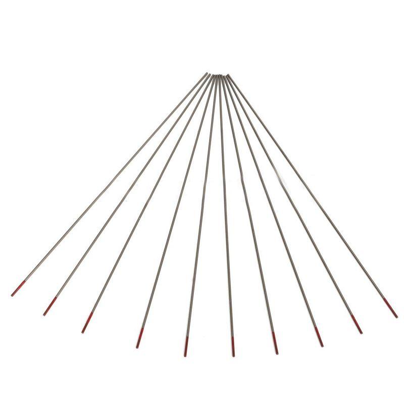 10pcs WT20 Tungsten 2% Lanthanated Tip TIG Welding