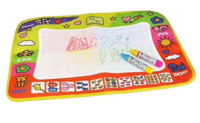 2x Doodle Mat Magic Pen Children Drawing Toys Educational