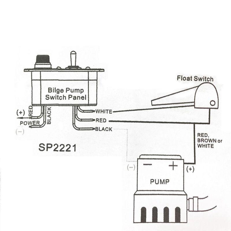 1X(Three-way Toggle switch 12V DC RV ship toggle led