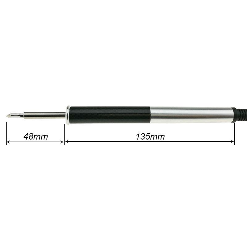 T12 Aluminum Alloy Fx9501 Handle Stm32 Oled Soldering Iron