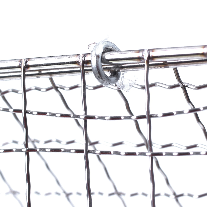Stainless Steel BBQ Fish Meat Net Barbecue Grill Mesh Wire