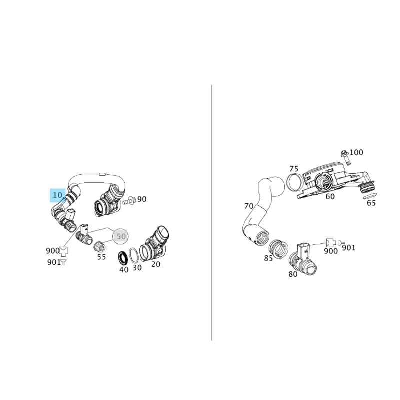 3X(Pressure Control Breather Bleeder Valve for W251 R300