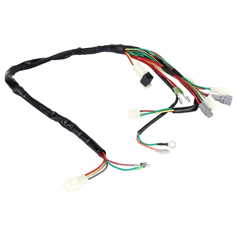 1X(Motorcycle Replacement Wire Harness Assembly for Yamaha