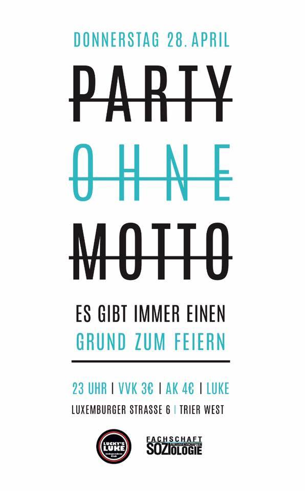 SoWiSo Party ohne Motto