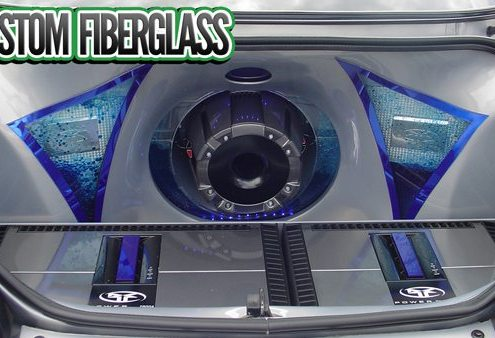 Custom Fiberglass Sub Boxes Lucky's Autosports