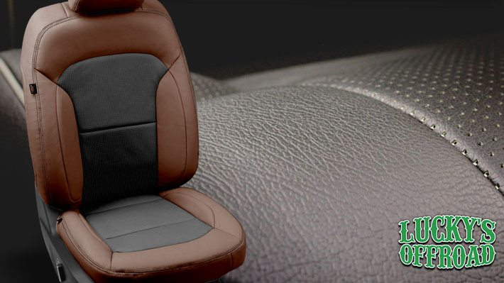 Custom Leather Seats Interior
