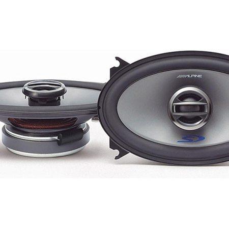 Alpine SPS 406 Speakers Front