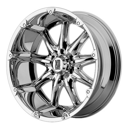 XD Series XD779 Badlands Chrome Wheels