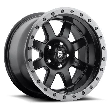 Fuel Off Road Trophy Black 18x10 Wheels