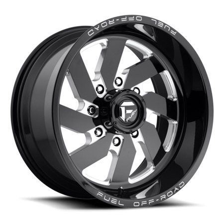 Fuel Off Road Turbo D582 Black Wheels