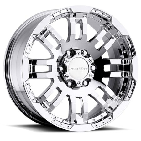 Vision Warrior 375 Chrome Wheels