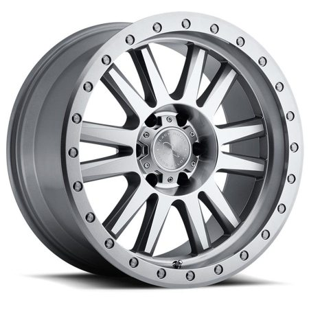 Black Rhino Wheels Tanay Silver Machine Face