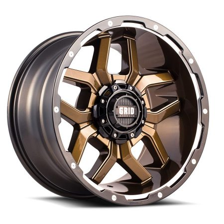 Grid Off Road GD7 Gloss Bronze Wheel