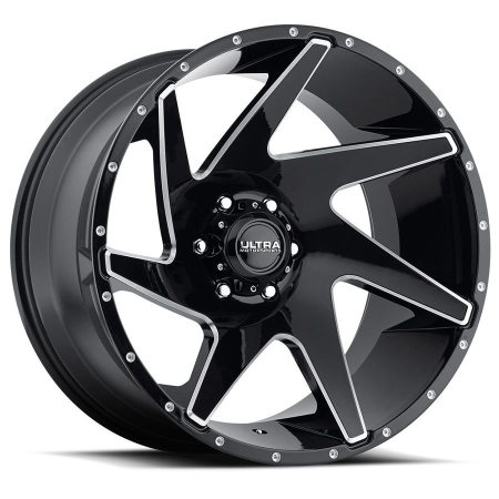 Ultra Vortex 206 Gloss Black Wheels