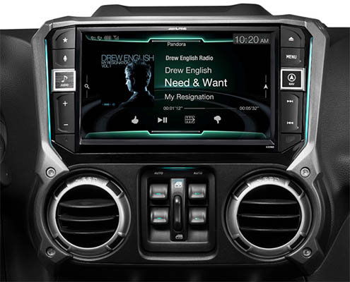 alpine x209-wra restyle head unit