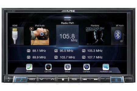 Alpine iLX-207 Receiver Apple CarPlay AndroidAuto