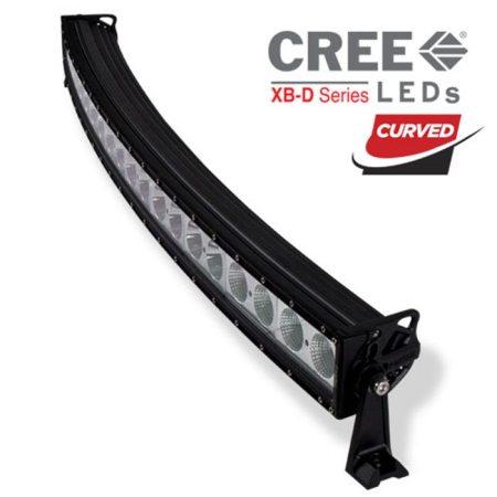 Heise 42-Inch Single Row Curved Light Bar