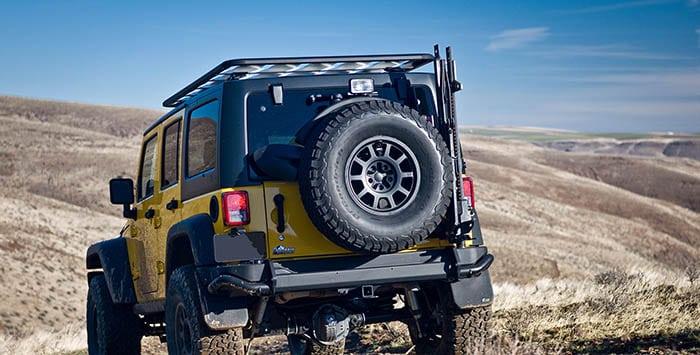 Rear Bumper Tire Carrier