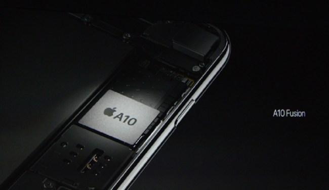 apple-a10 fusion processor