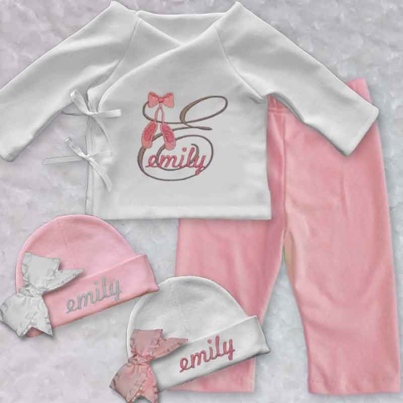 baby girl monogrammed clothes