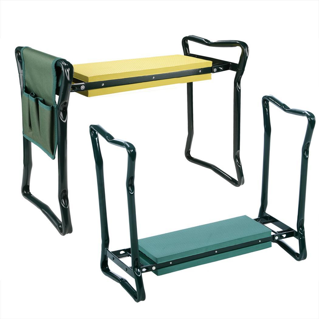 chair with kneeler crate and barrel office folding gardening kneeling knee pad seat