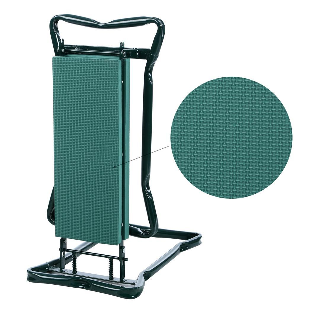 chair with kneeler restoration hardware wingback folding gardening kneeling knee pad seat