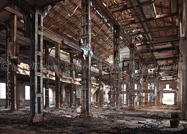 Abandoned factory, Alessandra, Italy