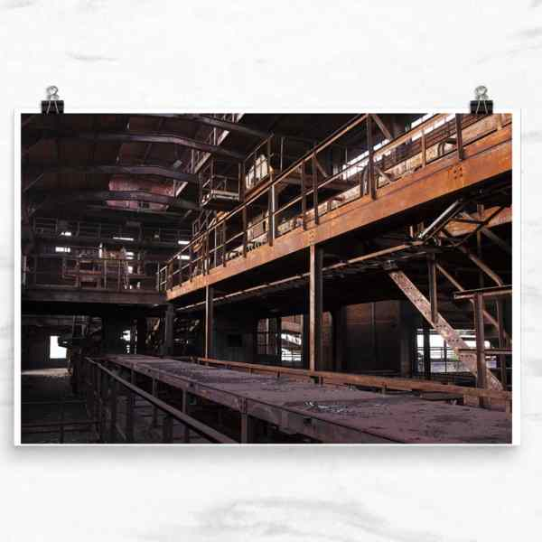 Sinteranlage Duisburg, abandoned sintering plant, Duisburg, Germany