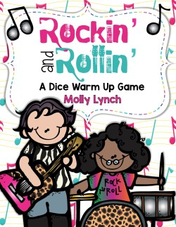 Rockin & Rollin Dice Game Lucky to Be in First