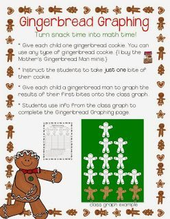 Gingerbread Graphing Gingerbread Unit | Run, Run As Fast As You Can - A Gingerbread Unit by Lucky to Be in First