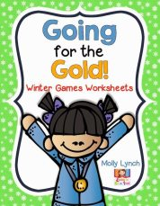 Going for the Gold Winter Unit | Free Olympic Ideas for 1st Grade | Lucky to Be in First