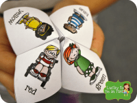 Cootie Catchers for Rainy Day Ideas & Activities for Indoor Recess by Lucky to Be in First