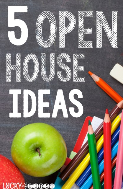5 Open House Ideas to showcase your students' hard work!