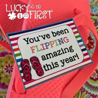 You've Been Flipping Amazing This Year Parent Gift FREEBIE | Lucky to Be in First Freebie