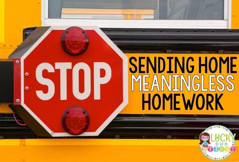 Take Home Tasks Homework Blog