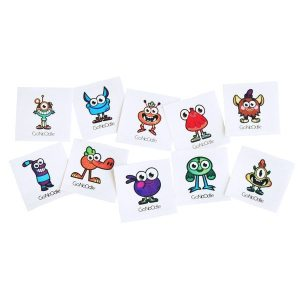 GoNoodle Temporary Tattoos