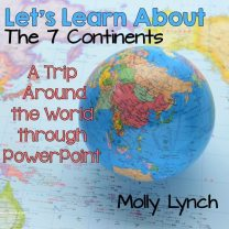 Learn About the Seven Continents Study Lucky to Be in First