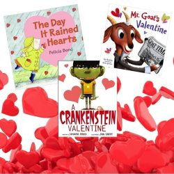 valentines day books lucky to be in first