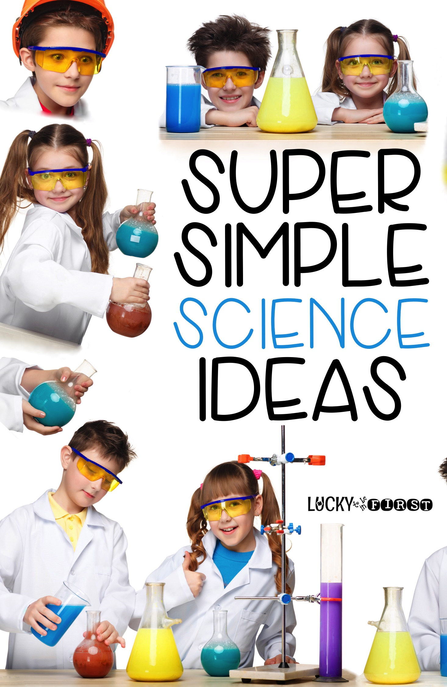 Super Science Ideas! Bring the fun back into Science with these simple ideas! | Lucky to Be in First