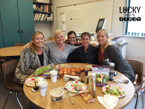 Lunch Bunch Buddies Lucky to Be in First